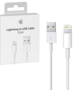 iphone usb lightning laidas 2 metrų